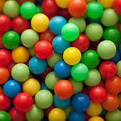 Colorful balls - Stock Image - BJHRCH