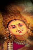 Hindu goddess Lakshmi. Sacred India - Stock Image - BGEFH7