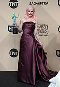 Los Angeles CA - JANUARY 29 Taryn Manning, At 23rd Annual Screen Actors Guild Awards - Press Room, At Shrine Auditorium In California on January 29, 2017. Credit: Faye Sadou/MediaPunch - Stock Image - HM1ECY