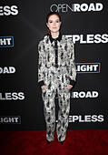 Los Angeles, CA, USA. 05th Jan, 2017. Emily Tyra, At Premiere Of Open Road Films' 'Sleepless', At Regal LA Live Stadium 14 In California on January 05, 2017. © Faye Sadou/Media Punch/Alamy Live News - Stock Image - HGACAX