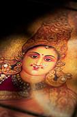 Hindu goddess Lakshmi. Sacred India - Stock Image - BGEFJ7