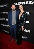 Los Angeles, CA, USA. 05th Jan, 2017. Baran 'Bo' Odar, Michelle Monaghan, At Premiere Of Open Road Films' 'Sleepless', At Regal LA Live Stadium 14 In California on January 05, 2017. © Faye Sadou/Media Punch/Alamy Live News - Stock Image - HGAC8A