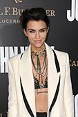 Los Angeles, CA, USA. 30th Jan, 2017. Ruby Rose at arrivals for JOHN WICK: CHAPTER TWO Premiere, Arclight Hollywood, Los Angeles, CA January 30, 2017. Credit: Dee Cercone/Everett Collection/Alamy Live News - Stock Image - HM1GW0