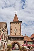 Black Forest: Gengenbach in Black Forest - Stock Image - HBAA6G