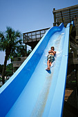 Florida, Weeki Wachee Springs, Weeki Wachee Springs, Buccaneer Bay water park - Stock Image - AN7FE8