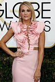 Beverly Hills, Us. 08th Jan, 2017. Carrie Underwood arrives at the 74th Annual Golden Globe Awards, Golden Globes, in Beverly Hills, Los Angeles, USA, on 08 January 2017. Photo: Hubert Boesl Photo: Hubert Boesl//dpa/Alamy Live News - Stock Image - HGGB6F