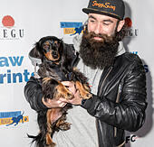 "New York, NY, USA - December 19: Jerry ""Brows"" Powers at the Paw Prints 1st Annual Paw-liday party screening of 'Best in Show' at IFC center Credit: Sam Aronov/Alamy Live News - Stock Image - KRFF13"