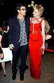 K32610AR.AFTER PARTY FOR .''ONCE UPON A TIME IN MEXICO''..GAUSTIVINO'S, NEW YORK New York..     /    2003.MELANIE GRIFFITH AND ANTONIO BANDERAS(Credit Image: © Andrea Renault/Globe Photos/ZUMAPRESS.com) - Stock Image - CDC2X1