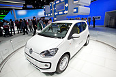 Volkswagen, VW Eco up, 64th International Motor Show, IAA, 2011, Frankfurt am Main, Hesse, Germany, Europe - Stock Image - CRE9YP