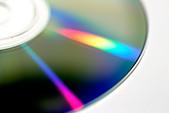 media storage dvd cd cd rom burn rip r r rw disc disk future tech technology movie music mp3 mp4 medium communication album - Stock Image - APR9FF