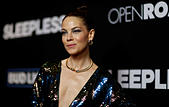 Cast member Michelle Monaghan poses at the premiere of the movie 'Sleepless' in Los Angeles, California U.S., January 5, 2017.   REUTERS/Mario Anzuoni - Stock Image - HG8N9C