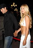 K32610AR.AFTER PARTY FOR .''ONCE UPON A TIME IN MEXICO''..GAUSTIVINO'S, NEW YORK New York..     /    2003.ENRIQUE IGLESIAS AND ANNA KOURNIKOVA(Credit Image: © Andrea Renault/Globe Photos/ZUMAPRESS.com) - Stock Image - CDC49K