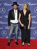 Palm Springs, CA, USA. 2nd Jan, 2017. 02 January 2017 - Palm Springs, California - Pharrell Williams. 2017 Palm Springs International Film Festival Gala held at Palm Springs Convention Center. Photo Credit: Birdie Thompson/AdMedia © Birdie Thompson/AdMedia/ZUMA Wire/Alamy Live News - Stock Image - HG0Y0M