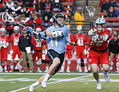 Piscataway, NJ, USA. 2nd Apr, 2016. Johns Hopkins Kieran Eissler (11) winds up to take a shot during an NCAA Lacrosse game between the Johns Hopkins Blue Jays and the Rutgers Scarlet Knights at High Point Solutions Stadium in Piscataway, NJ. Rutgers defeated Johns Hopkins, 16-9. Mike Langish/Cal Sport Media. © csm/Alamy Live News - Stock Image - FWB266