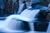 waterfall cascade - Stock Image - BRC6YT