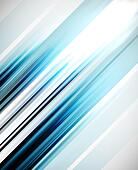 Blue abstract straight lines vector background - Stock Image - DNP7EG
