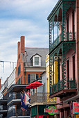 Historic French Quarter in New Orleans, Louisiana, USA - Stock Image - BR04RY