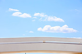 architecture detail of the futuristic national museum of brasilia city - Stock Image - ANYETJ