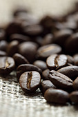 Coffee beans - Stock Image - BTHD8P