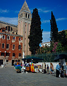 Campo Vidal Venice Italy Europe. Photo by Willy Matheisl - Stock Image - AAKY1A