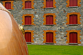 Ireland, County Cork, Old Midleton Distillery, Copper vat - Stock Image - A8H1F7