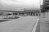 Bus station in Cheb (Czech Republic) - Stock Image - HBDEXT