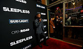 Cast member Jamie Foxx poses at the premiere of the movie 'Sleepless' in Los Angeles, California U.S., January 5, 2017.   REUTERS/Mario Anzuoni - Stock Image - HG8N59
