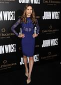 Los Angeles, CA, USA. 30th Jan, 2017. Allison Holker at arrivals for JOHN WICK: CHAPTER TWO Premiere, Arclight Hollywood, Los Angeles, CA January 30, 2017. Credit: Dee Cercone/Everett Collection/Alamy Live News - Stock Image - HM1GT7