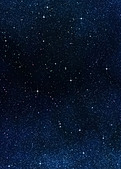 great image of space or a starry night sky  - Stock Image - BKXWPN