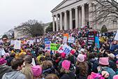 Women's March Washington DC January 21,2017 - Stock Image - HJ5WX8