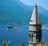Perast, Bay of Kotor, Montenegro - Stock Image - BRE9E2