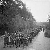 The Liberation of Bergen-belsen Concentration Camp, April 1945 BU4067. - Stock Image - D8RFCN