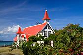 Eglise de Cap Malheureux Mauritius Africa - Stock Image - B7FWF4