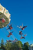 Sweden, Goteborg, Liseberg Amusement Park - Stock Image - AE0P03