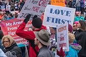 Women's March Washington DC January 21,2017 - Stock Image - HJ5WX5