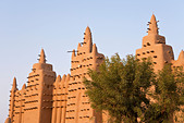 Great Mosque of Djenne, Djenne, Mopti Region, Niger Inland Delta, Mali, West Africa - Stock Image - BBTWCY