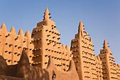 Great Mosque of Djenne, Djenne, Mopti Region, Niger Inland Delta, Mali, West Africa - Stock Image - BBTWBC