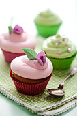 cupcakes - Stock Image - C36ENK