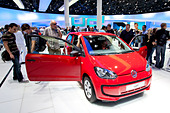 Volkswagen, VW up, 64th International Motor Show, IAA, 2011, Frankfurt am Main, Hesse, Germany, Europe - Stock Image - CRE9Y1