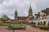 Black Forest: Freudenstadt in Black Forest - Stock Image - HBAA71
