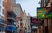 Historic French Quarter in New Orleans, Louisiana, USA - Stock Image - BR048Y