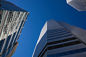 Office buildings - Stock Image - BK7EMB