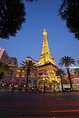 Paris Las Vegas hotel in Las Vegas, Nevada, United States - Stock Image - JCGYE2