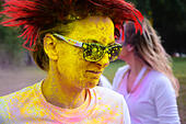 The Color running race - Stock Image - H6093P