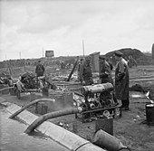 The Liberation of Bergen-belsen Concentration Camp, April 1945 BU4239. - Stock Image - D8RBK8