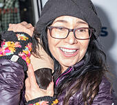 New York, NY, USA - December 19: Actress Janeane Garofalo attend Paw Prints 1st Annual Paw-liday party screening of 'Best in Show' at IFC center Credit: Sam Aronov/Alamy Live News - Stock Image - KRFMWE