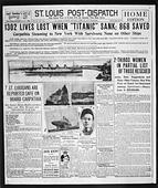 Shipwreck Titanic - Stock Image - AE5K73