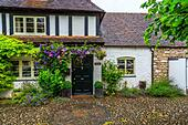 a lovely cottage in Ross on Wye, Hereford - Stock Image - HEYKGG