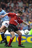 Soccer - FA Cup - Fifth Round - Manchester City v Barnsley - Maine Road - Stock Image - GAF2R0