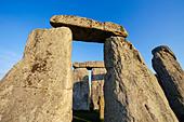 England, Wiltshire, Stonehenge - Stock Image - CPFBTR